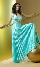 Beaded mint dress