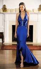 Gigi blue dress