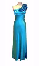 Adrianna Papell 071833990 Blue Dress