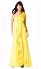 Adrianna Papell 071834270 Yellow Dress