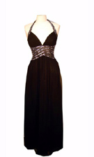 Adrianna Papell 071835470 Black Dress