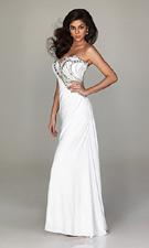 Allure 481 White Dress
