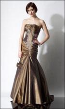 Alyce 3211 Gold Dress