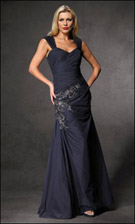 Alyce 6214 Navy Dress