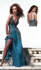 Alyce 6283 Turquoise Dress