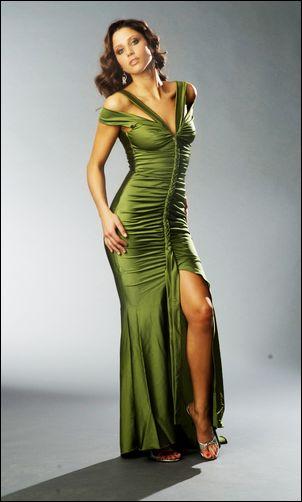 Atria 1217 Olive Dress