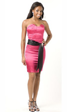 Atria 5138 Pink Dress