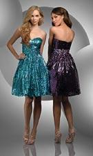 Bari Jay 59405-BJV Turquoise/Plum Dress