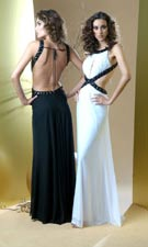 Bari Jay 59709 Black/White Dress
