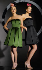 Bari Jay 80000 Forest/Black Dress