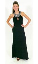 Betsy and Adam 019679 Black Dress
