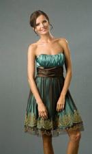 Blondie Nites 159039 Brown/Sage Dress
