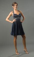 Blondie Nites 159201 Navy Dress