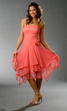 Blondie Nites 312424 Coral Dress