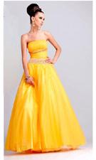 Blush 9003 Yellow Dress