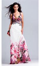Blush 9016 White Blossom Dress