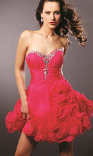 Blush 9125 Fuchsia Dress