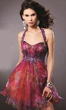 Blush 9148 Purple Dress
