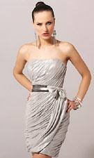 Blush C014 Silver Dress