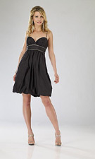 Dave and Johnny 4317 Black Dress