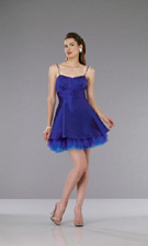 Dave and Johnny 5198 Blue Dress