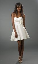 DJ 5686i White Dress