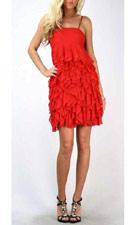 Double Zero 7219 Red Dress