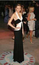 Faviana 5966 Black & White Dress