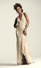 Faviana 6001 Gold Dress