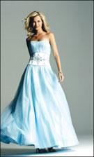 Faviana 6130 Ice Blue Dress