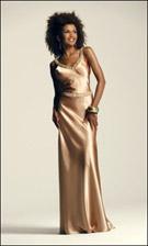 Faviana 6142 Gold Dress