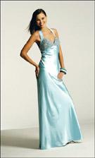 Faviana 6175 Aqua Marine Dress