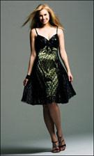 Faviana 6204 Celery Green Dress