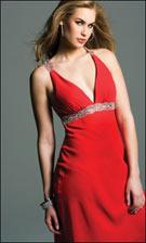Faviana 6209 Red Dress