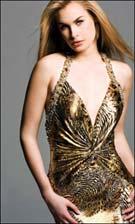 Faviana 6230 Animal Print Dress