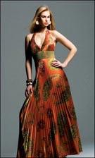 Faviana 6232 Print Dress
