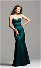 Faviana 6238 Hunter Green Dress