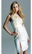 Faviana 6240 White Dress