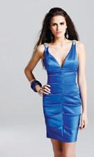 Faviana 6447 Blue Dress