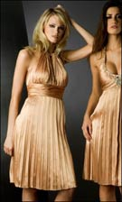 Flip 6236 Gold Dress