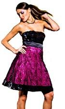 Flip 6848 Magenta Dress
