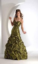 Flirt 1203 Shimmer Moss Dress