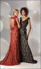 Flirt 2212 Black/Red Dress
