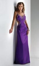 Flirt 4378 Purple Dress