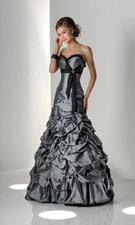 Flirt P1203 Black Dress