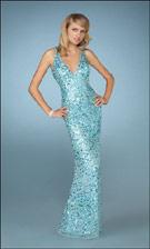 GIGI 13343 Blue Dress