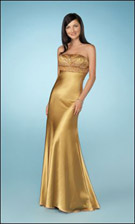 Gigi 13707 Gold Dress