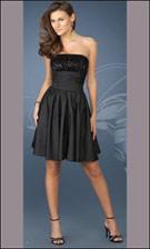 Gigi 13985 Black Dress