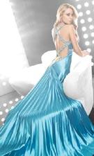 Jasz 4068 Turquoise Dress