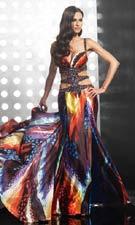 Jasz 4109 Print Dress